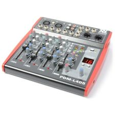 Power Dynamics PDM-L405 Muziek Mixer 4-Kanaals MP3/ECHO