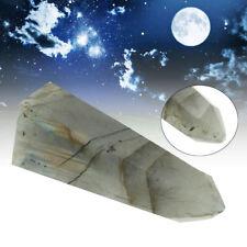 Moonstone Quartz Crystal Stone Terminated Wand Point Healing Specimen Decoration
