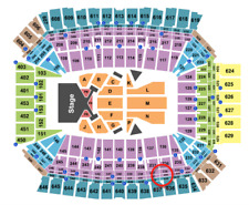 FIRST ROW 2 Taylor Swift Tickets 9/15/18 Indianapolis IN Section 536! WOW!