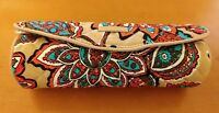 NWT Vera Bradley Iconic On a Roll Case Cosmetic Bag in Desert Floral