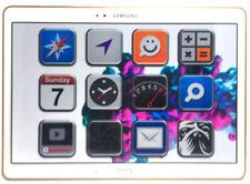 Samsung SM-T800 Galaxy Tab S 10.5 Dazzling White *gut* 16GB WiFi Tablet (N27819)