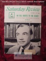 Saturday Review October 3 1959 ALBERT COONS ELMO ROPER H. Jack Geiger