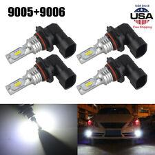 9005+9006 Combo LED Headlight Bulb Kit For Chevy Silverado1500 2500 2001-2006 US