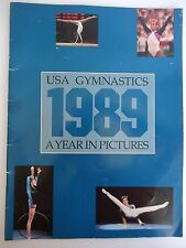 USA Gymnastics 1989 A year in Pictures - Shannon Miller
