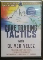 Factory Sealed DVD - Oliver Velez - Core Trading Tactics Score & Win Big System