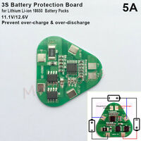 3S 5A 11.1V 12.6V 18650 Li-ion Lithium Battery BMS Protection PCB Board Triangle