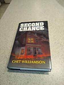 Second Chance Chet Williamson Cemetery Dance Signed Hardcover