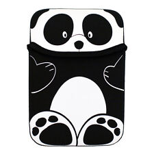 Black Panda Reversible Sleeve Case Cover Pouch for Kobo Glo eReader