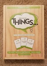 The Game of Things Board Game Humor In A Box Ages 14-adult Family Game