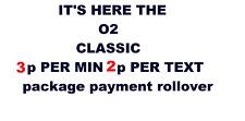 OFFICIAL O2 Classic Pay As You Go Sim Card Triple Cut Standard Micro & Nano Sim