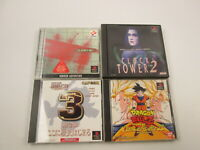 Lot of 4 games Silent Hill Clock Tower SET Playstation PS Play Station