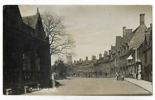 Gloucestershire Campden Street Scene Real Photo Vintage Postcard 12.7