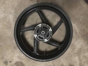 Cbr125 Rear Wheel 2016 Loww Mileage Bike