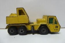VINTAGE DIE CAST TOY MATCHBOX LESNEY CAT CRANE TRUCK 1978 NO.40