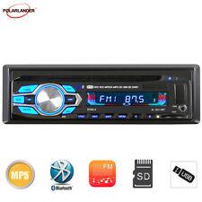 Car Radio Bluetooth DVD/CD Player MP3 In Dash SD/USB/FM Aux Head Unit 1 DIN 12V