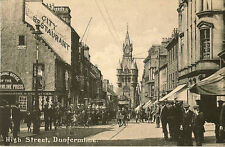 Dunfermline Collectable Scottish Unknown County Postcards