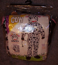 "Forum Men's Cow Mascot Halloween Costume OSFM One Size Fits Most 42"" Chest USED"
