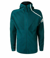 adidas Men's PARLEY ZNE Hoodie Jacket Teal Green Size XXL DP0285 $150