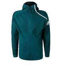 adidas Men's PARLEY ZNE Hoodie Jacket Teal Green Size XXL DP0285 $150