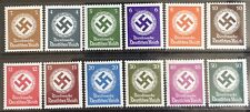Germany Third Reich 1942-1943 Swastika Official issues MLH