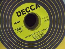 "TERRY FISCHER Put Your Hand In The Hand/You've Got To Be Willing 7"" 45 promo"