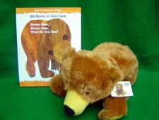 Brown Bear Brown Bear What do you See soft plush Toy and Book Set Bill Martin Jr