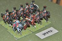 25mm napoleonic / french - guard light 10 figures - cav (39494)