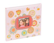 Kenro Pink Festival Childrens Scrapbook Colourful Patterned Paper with Photo Win