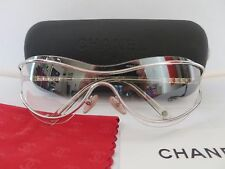 Chanel Sunglasses 4028 c.159/61 Mirror Rimless Authentic very good!