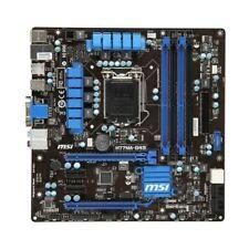 MSI H77MA-G43 MS-7756 Ver.1.0 Intel H77 Mainboard Micro ATX Sockel 1155  #307588