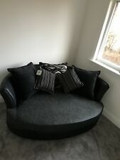 Brand new grey and black cuddle chair