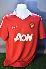 Manchester United Football Shirt Adult L Home 10/11 Nike