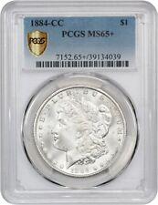 1884-CC $1 PCGS MS65+ - Morgan Silver Dollar