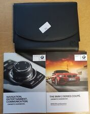 Genuine BMW serie 2 Coupe F22 Manual Owners Manual Cartera 2013-2018 Pack 73