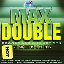 Max Double: Reggae Various Artists (2 CD, 1999, Music Max) NEW SEALED