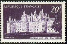 "FRANCE N°924 ""CHATEAU DE CHAMBORD"" NEUF xx TTB"