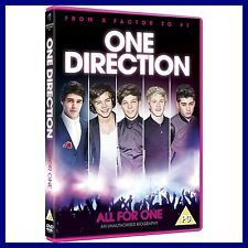 ONE DIRECTION - ALL FOR ONE ***BRAND NEW DVD ***