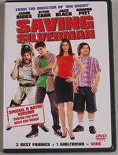 Saving Silverman Dvd Like New Viewed Once Jason Biggs R Rated Version Jack Black