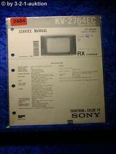 Sony Service Manual KV 2764EC (#2484)