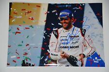 Mark Webber signed 20x30cm  Foto , Autogramm / Autograph in Person ..