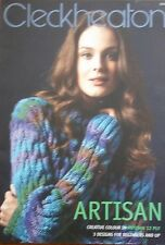 Cleckheaton Artisan Knitting Pattern No 3006