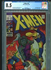 X-Men #53 CGC 8.5 (1969) Blastaar Barry Windsor-Smith's 1st U.S. Comic Book Work