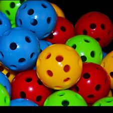 8- 1-1/8''  HARD PLASTIC BALLS bird toy parts (DURABLE) PARROT FAVORITE!