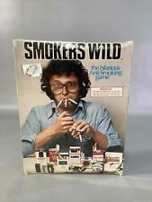 Sealed Vintage Smokers Wild Board Game
