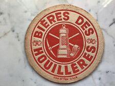 Ancien sous bock une face bières des houillères rob otten Lille collection