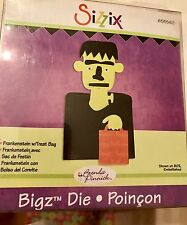 Sizzix Die Frankenstein Treat Bag Halloween Bigz Originals Scrapbooking NEW NIP