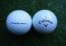 100 Callaway Chrome Soft Golfbälle  AAAA - AAA
