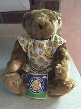 Teddy Bear-Vermont Country Store Get Well Teddy Bear Brand New