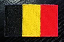 BELGIUM Belgian Country Flag Embroidered PATCH Badge *NEW*
