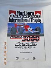 MARLBORO/DAILY EXPRESS FORMULA 3000 SILVERSTONE programma 24 MARZO 1985